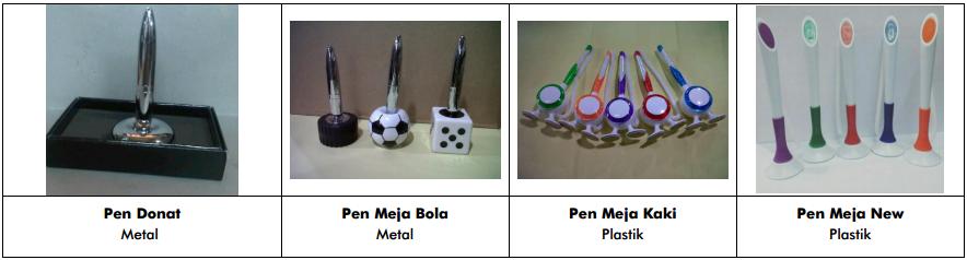 souvenir pulpen