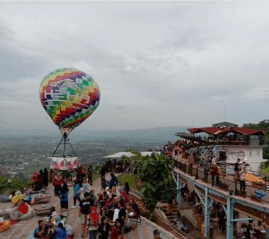 Balon selfie wisata