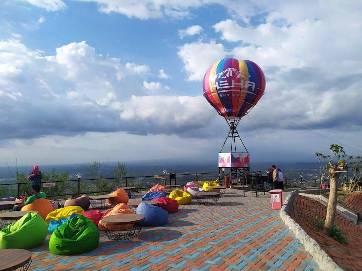 balon selfi wisata